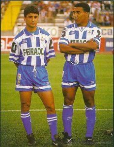 Bebeto y Mauro Silva eran dos cracks del Deportivo de la Coruña