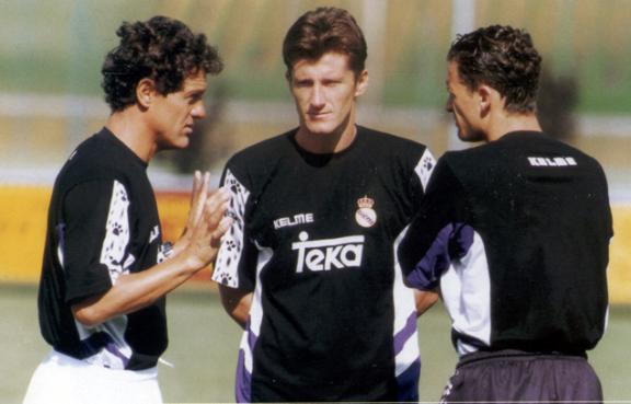 Roberto Carlos formó parte del mítico Real Madrid de Capello, junto a Suker y Mijatovic - Odio Eterno Al Fútbol Moderno