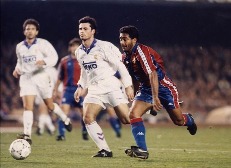 Romario fue el héroe culé en El Clásico de 1994