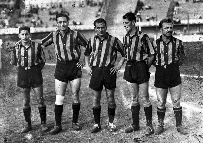 """Schiaffino formó parte de la conocida como """"Escuadrilla de la Muerte"""" de Peñarol"""