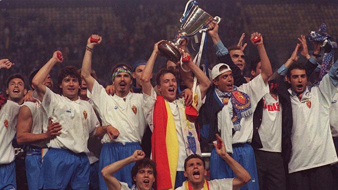 Real Zaragoza campeón de la Recopa de 1995 - Odio Eterno Al Fútbol Moderno