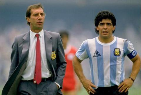 Bilardo llevó a Argentina a dos finales del Mundial, ganando la de 1986 - Odio Eterno Al Fútbol Moderno