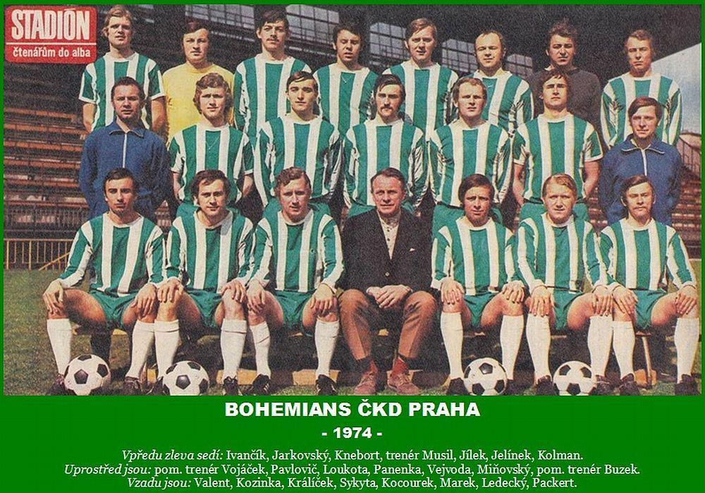 Antonín Panenka jugó en el Bohemians 1905 entre 1967 y 1981 - Odio Eterno Al Fútbol Moderno