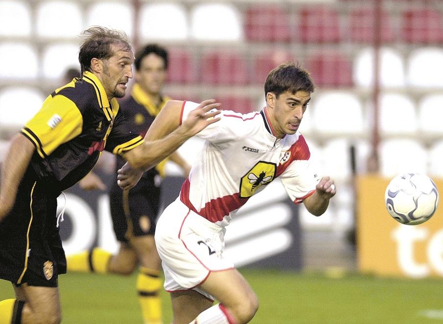 Bolo jugó varias temporadas en el Rayo Vallecano