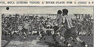 Superclásico argentino de 1928 - Odio Eterno Al Fútbol Moderno