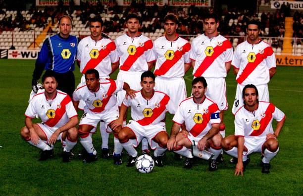 Rayo Vallecano, alineación temporada 2000-2001
