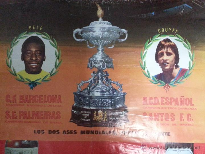 El Trofeo Carranza acogió el único duelo entre Cruyff y Pelé