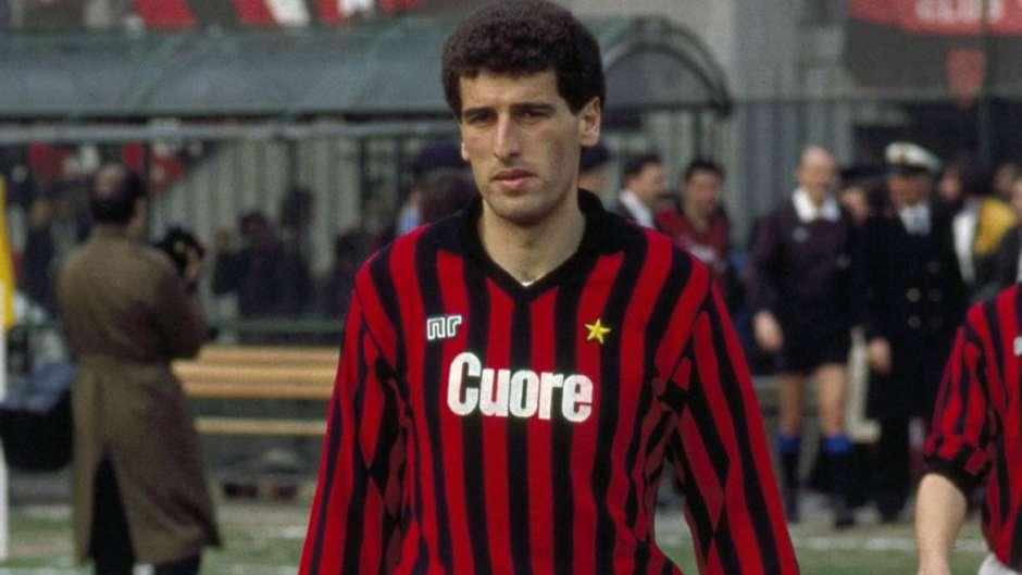 Mauro Tassotti como jugador del AC Milan - Odio Eterno Al Fútbol Moderno