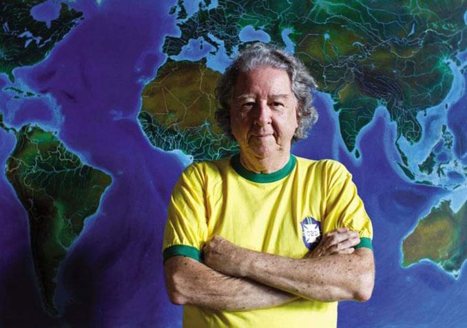Aldyr García Schlee, creador de la verdeamarela