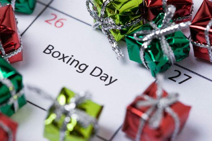 Boxing Day una tradición legendaria en Reino Unido