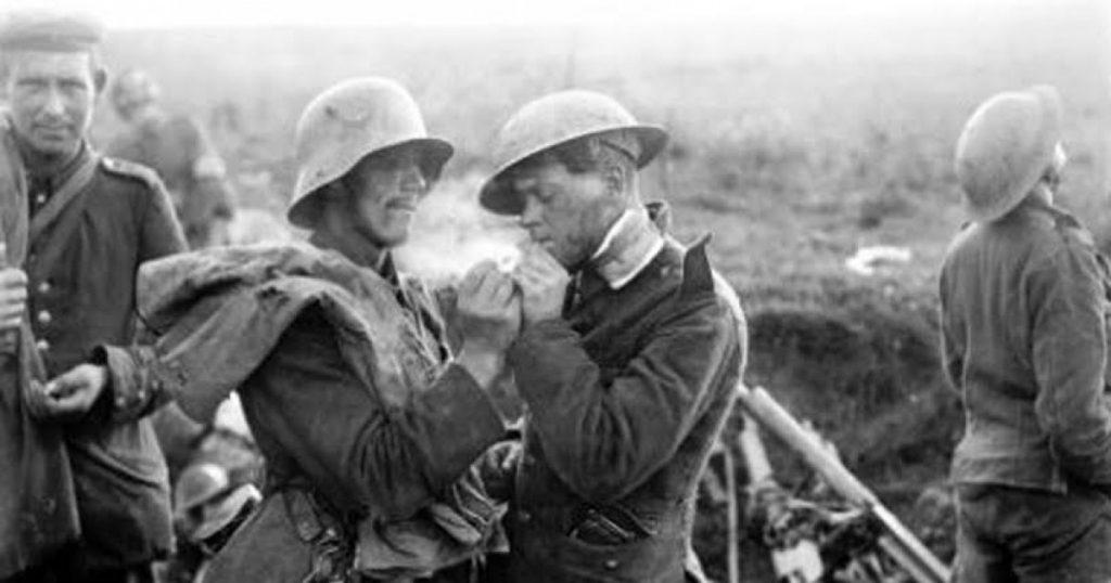 La Tregua de Navidad, trajo la paz momentánea en la Primera Guerra Mundial