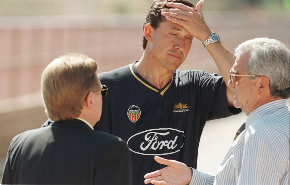 Valdano también cometió alineación indebida en el Valencia CF