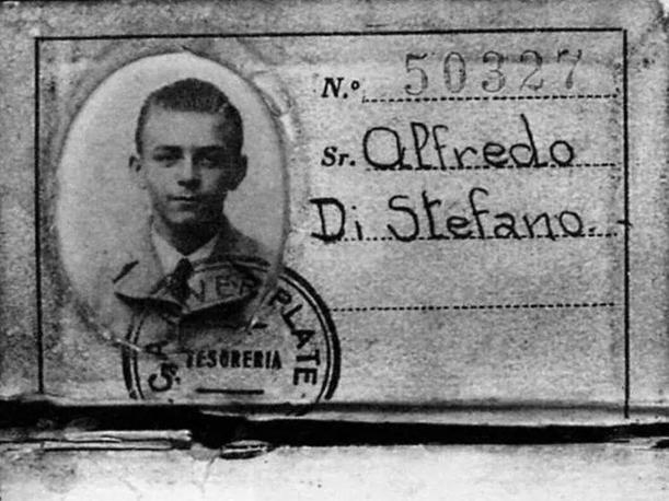 Ficha de Alfredo Di Stéfano en River Plate - Odio Eterno Al Fútbol Moderno
