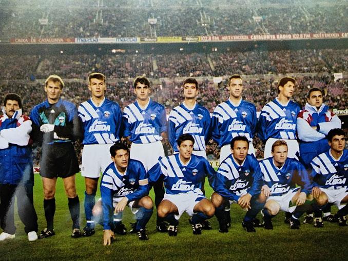 UE Lleida en el Camp Nou en la temporada 1993-1994 - Odio Eterno Al Fútbol Moderno