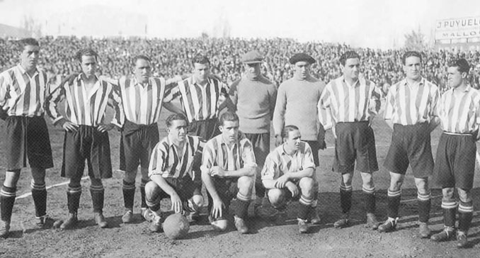 Plantilla del Athletic Club en 1931