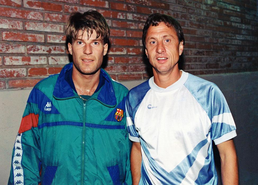 El enfrentamiento entre Laudrup y Cruyff era evidente antes de la final
