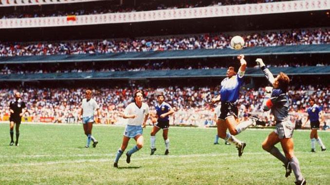 """""""La Mano de Dios"""" de Maradona ante Inglaterra en 1986 - Odio Eterno Al Fútbol Moderno"""