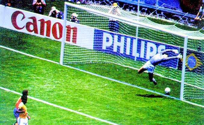Gol anulado a Michel frente a Brasil en México '86 - Odio Eterno Al Fútbol Moderno