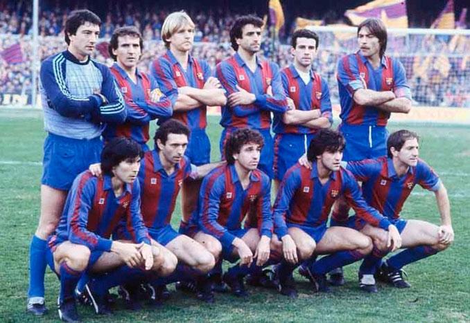 Quini goleó para el Barcelona durante cuatro campañas