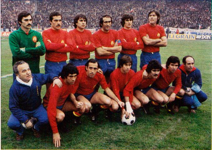 Juanito disputó 34 partidos con la Selección Española