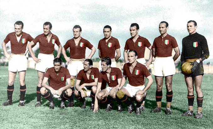 Il Grande Torino dominó el fútbol italiano en la década de 1940