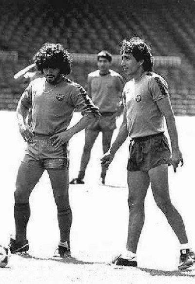 Maradona y Mágico González en el FC Barcelona - Odio Eterno Al Fútbol Moderno