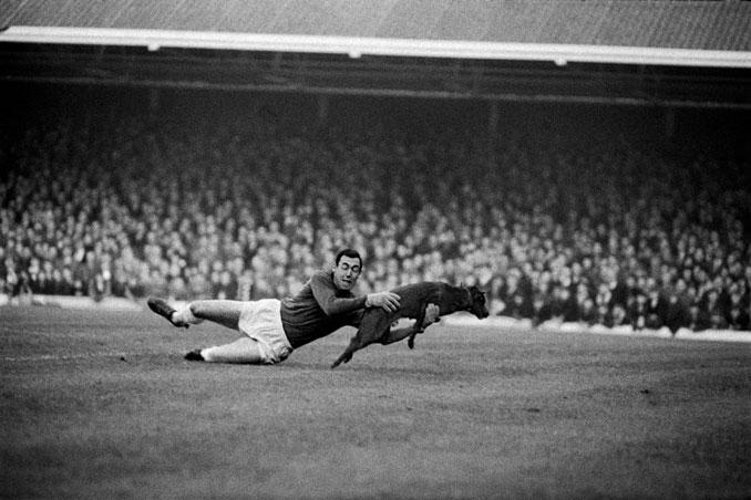 Gordon Banks fue el portero de la Inglaterra del '66