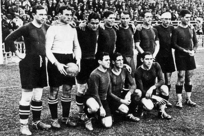 FC Barcelona, el primer campeón de la Liga
