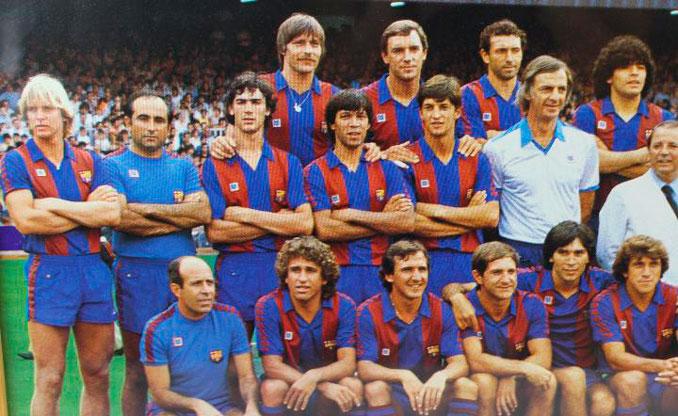 Plantilla del FC Barcelona en la temporada 1983-1984 - Odio Eterno Al Fútbol Moderno