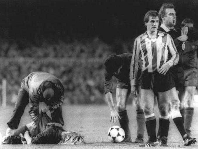 Andoni Goikoetxea lesionó a Schuster en 1981 - Odio Eterno Al Fútbol Moderno