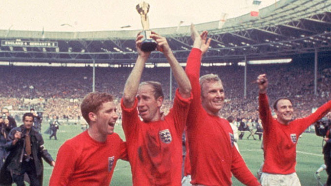 Bobby Charlton era el mejor de aquella selección inglesa