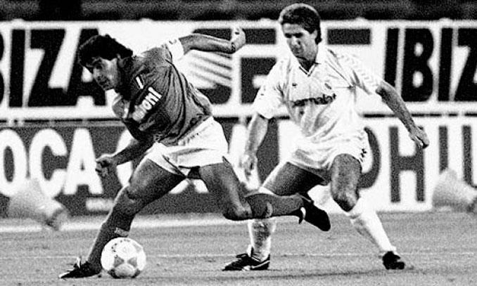 Chendo se permitió un lujo ante Maradona - Odio Eterno Al Fútbol Moderno