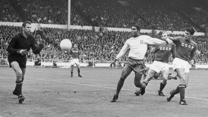 Eusebio cuajó un gran Mundial en 1966
