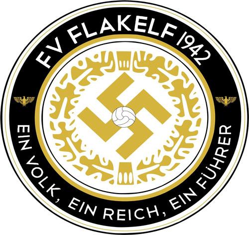 Escudo del FV Flakelf - Odio Eterno Al Fútbol Moderno