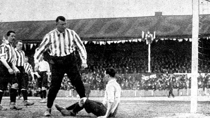 William Foulke fue un meta de fuerte carácter - Odio Eterno Al Fútbol Moderno