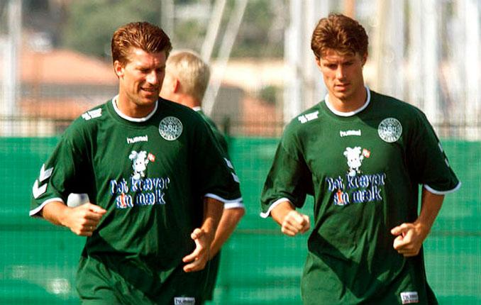 Michael y Brian Laudrup eran las grandes estrellas de Dinamarca - Odio Eterno Al Fútbol Moderno
