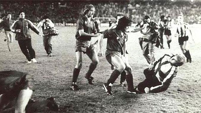 La final de Copa del Rey de 1984 terminó con una multitudinaria pelea - Odio Eterno Al Fútbol Moderno