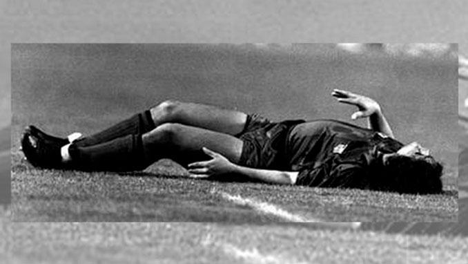 Andoni Goikoetxea lesionó de gravedad a Maradona - Odio Eterno Al Fútbol Moderno
