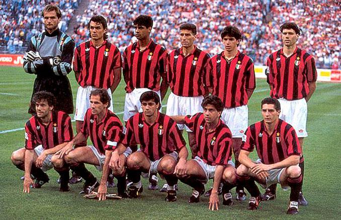 El AC Milán arrasó en Europa en los '90 - Odio Eterno Al Fútbol Moderno