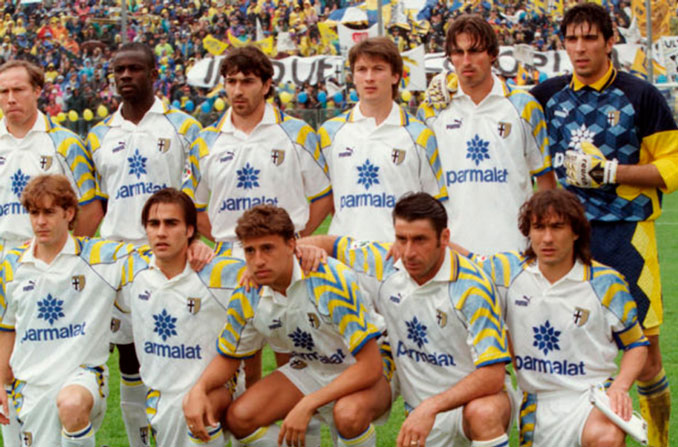 El Parma ganó la Copa de la UEFA en 1995 - Odio Eterno Al Fútbol Moderno