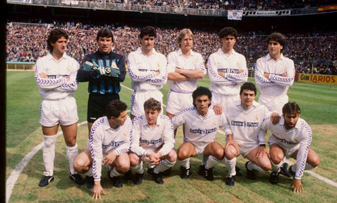 Chendo formó parte de La Quinta del Buitre, un grupo de futbolistas virtuosos - Odio Eterno Al Fútbol Moderno