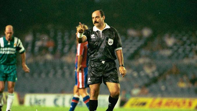 Joaquín Ramos Marcos, un árbitro muy mediático