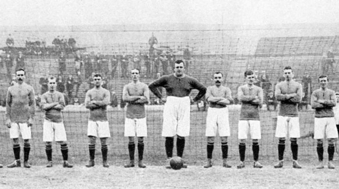 William Foulke fue el portero del Sheffield United que ganó la First Division en 1898