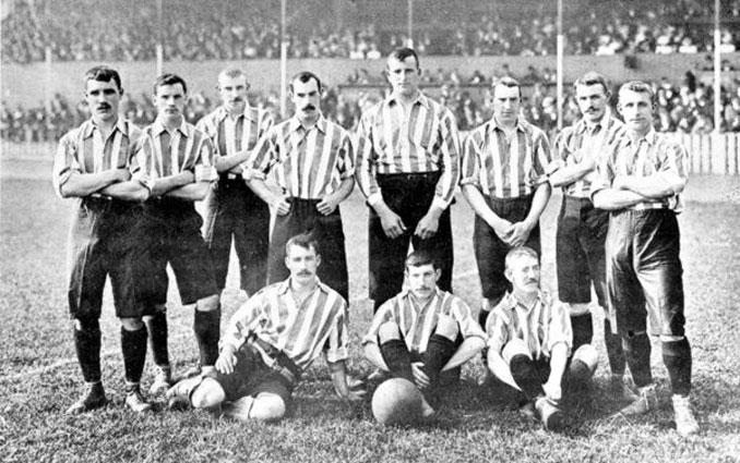 William Foulke lideró al Sheffield United desde la portería - Odio Eterno Al Fútbol Moderno