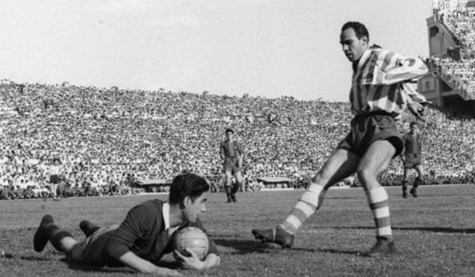Zarra es el máximo goleador de la historia del Athletic Club