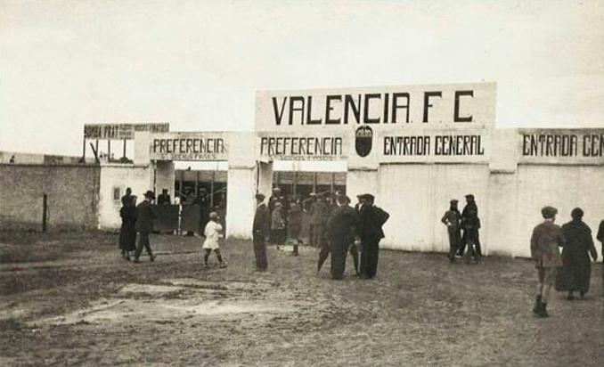 Camp d'Algiros fue la primera casa del Valencia CF - Odio Eterno Al Fútbol Moderno