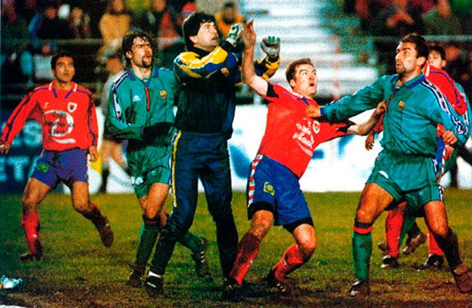 """El Numancia se lo puso muy difícil a un """"Dream Team"""" en horas bajas - Odio Eterno Al Fútbol Moderno"""