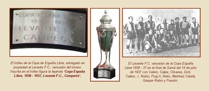 La Copa de la España Libre se disputó en la temporada 1936-1937 - Odio Eterno Al Fútbol Moderno
