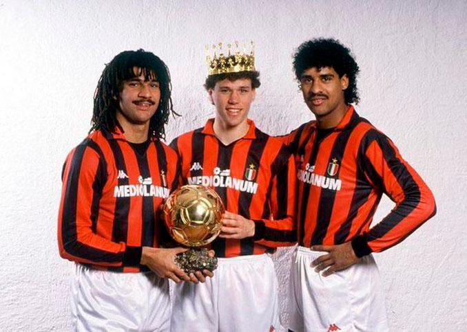 Gullit, Van Basten y Rijkaard formaron el Milán de los holandeses - Odio Eterno Al Fútbol Moderno