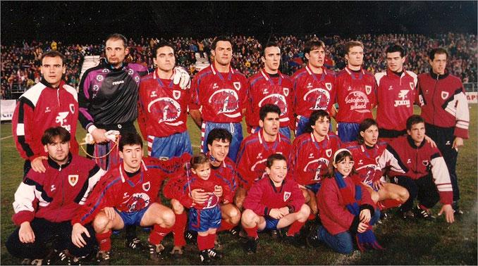 La resistencia numantina enamoró al fútbol español en la 95-96